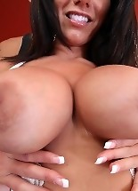 Big ass brunette babe Bella reveals for all to see; her beautiful boobs and hot big ass.